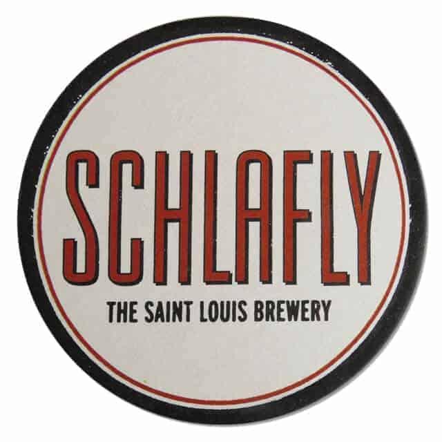 Schlafly Beer Coaster