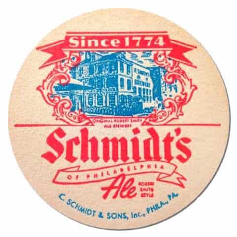 Schmidts Beer Mat