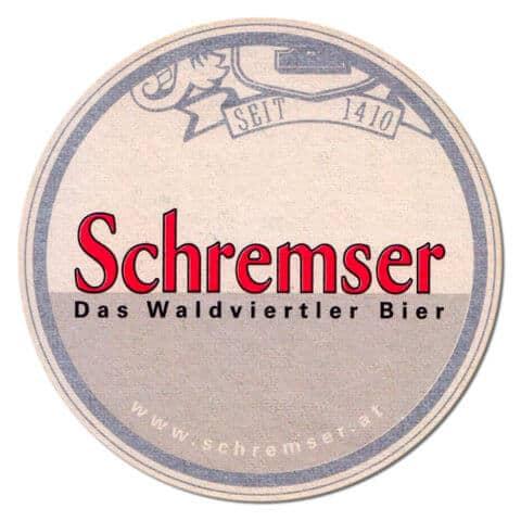 Schremser Beer Mat