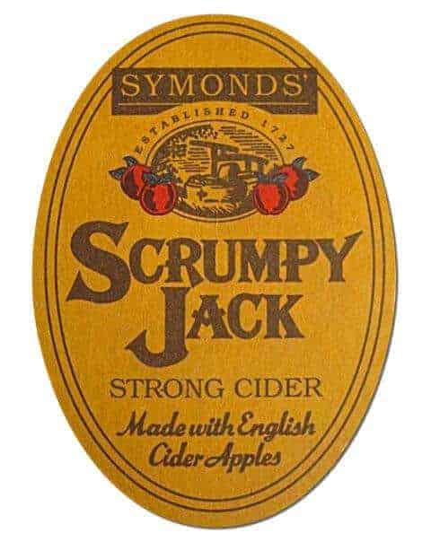 Scrumpy Jack Cider Coaster Front