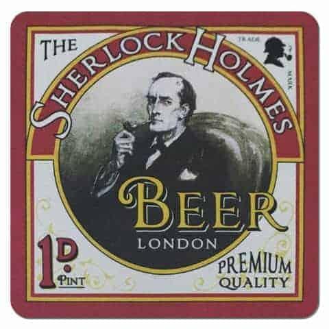 Sherlock Holmes Beer Drip Mat