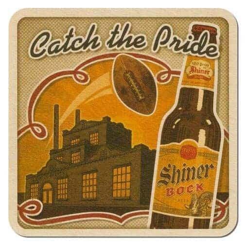 Shiner Bock Beer Mat