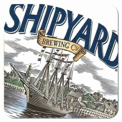 Shipyard Brewing Co Beer Mat