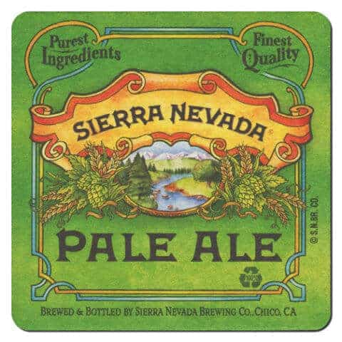 Sierra Nevada Beer Mat