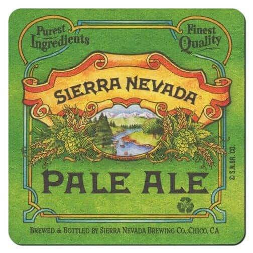 Sierra Nevada Beer Mat