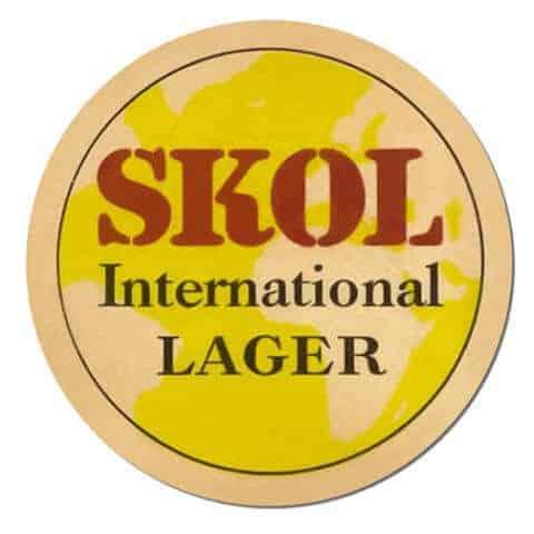 Skol Lager Coaster