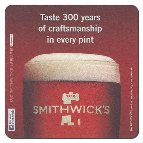 Smithwicks Drip Mat Front