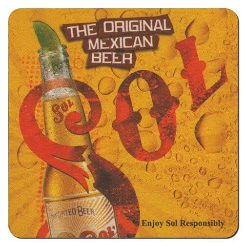 Sol Beer Drip Mat