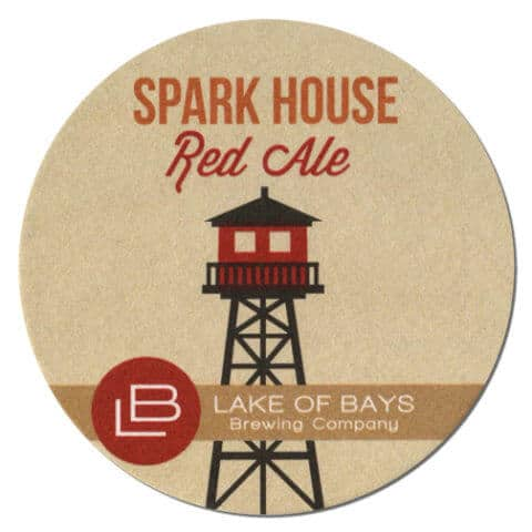 Spark House Red Ale Drip Mat