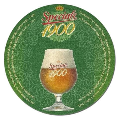 Speciale 1900 Beer Mat
