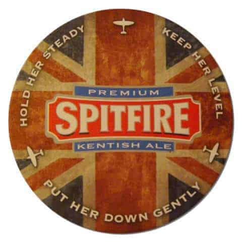 Spitfire Beer Mat