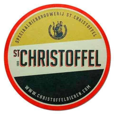 St Christoffel Beer Mat