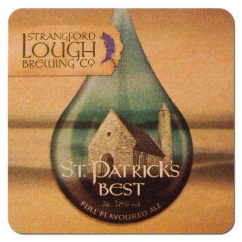 Strangford Lough Brewing - St Patricks Best Drip Mat