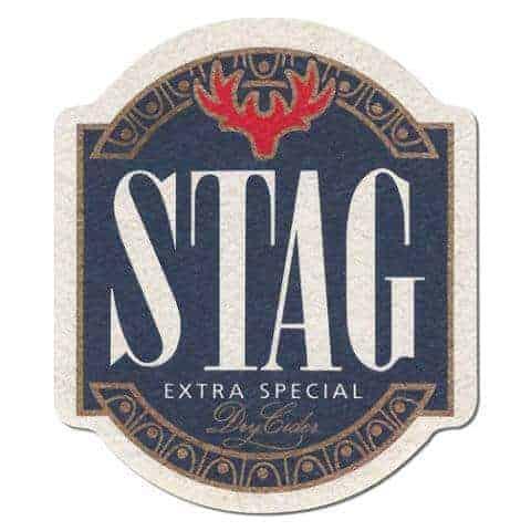 Stag Cider Coaster