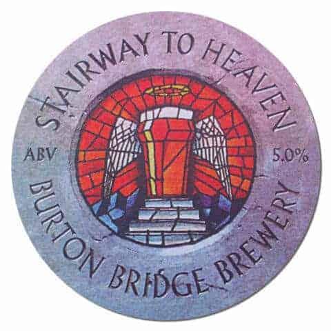 Stairway to Heaven Beer Mat