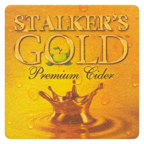 Stalkers Gold Cider Coaster