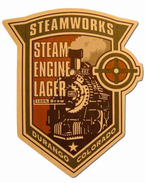 Steam Engine Lager Drip Mat