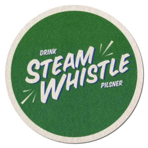 Steam Whistle Pilsner Beer Mat