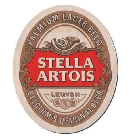 Stella Artois Beer Mat