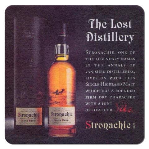 Stronachie Whisky Coaster