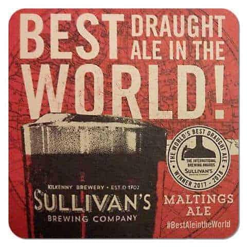 Sullivan's Brewing Coaster