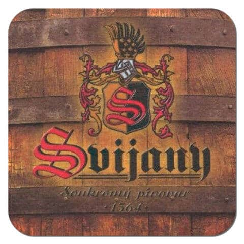 Svijany Beer Mat