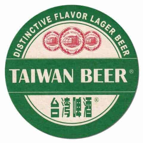 Taiwan Beer Drip Mat
