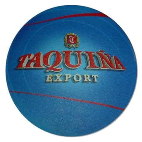 Taquina Export Beer Mat