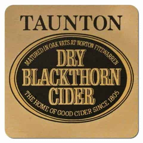 Taunton Dry Blackthorn Cider Drip Mat
