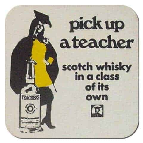 Teachers Whisky Coaster