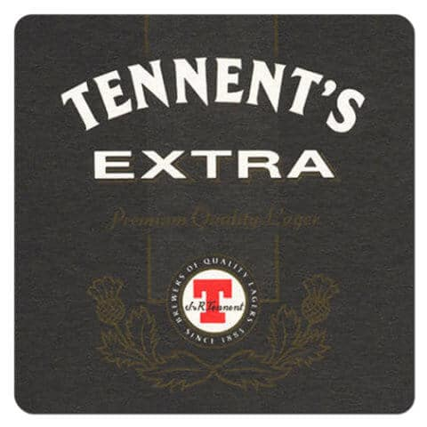 Tennents Extra Beer Mat