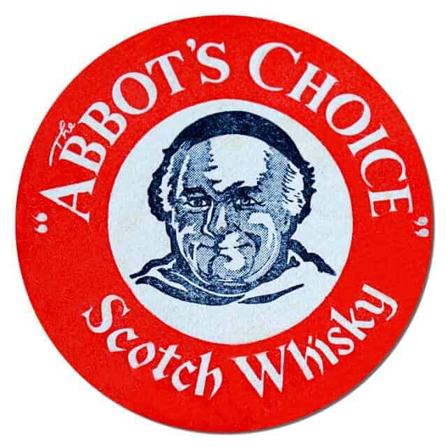 The Abbots Choice Scotch Whisky Coaster