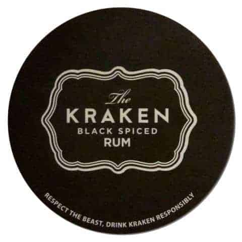 The Kracken Drip Mat Front