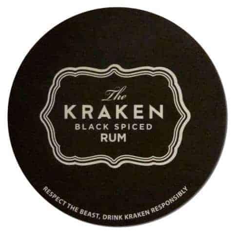 The Kracken Drip Mat Front