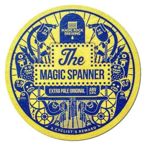 The Magic Spanner Beer Mat