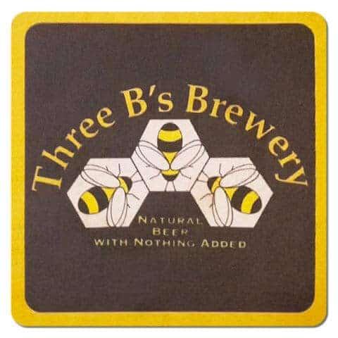 Three Bees Brewery Drip Mat