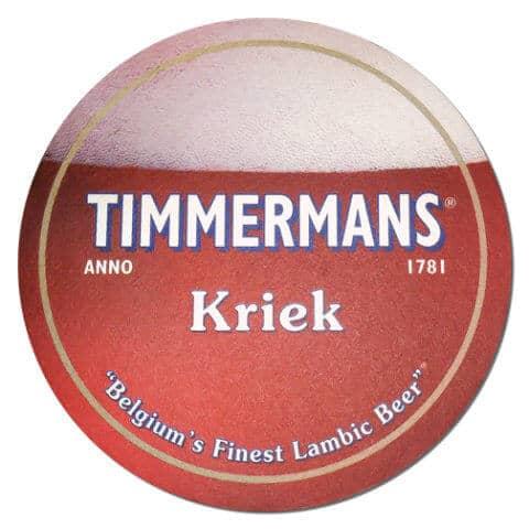 Timmermans Kriek Beer Mat