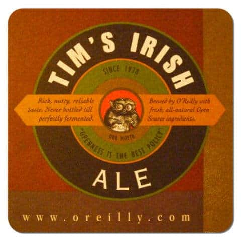 Tim's Irish Ale Beer Mat