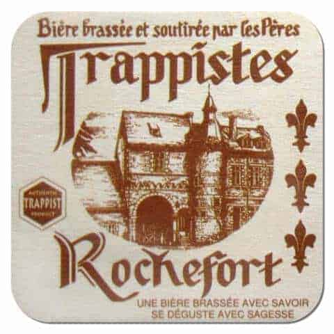Trappistes Rochefort Beer Mat
