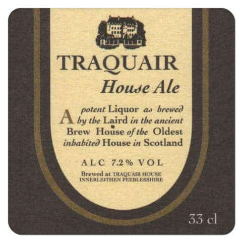 Traquair Beer Mat Front