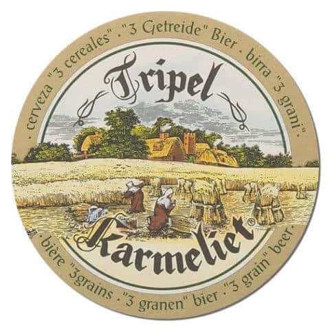 Tripel Karmeliet Beer Mat