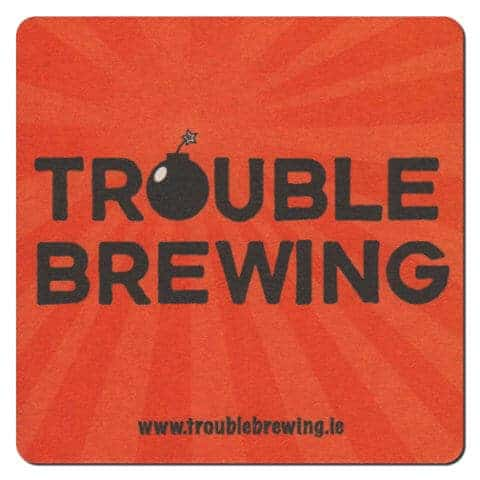 Trouble Brewing Drip Mat Front