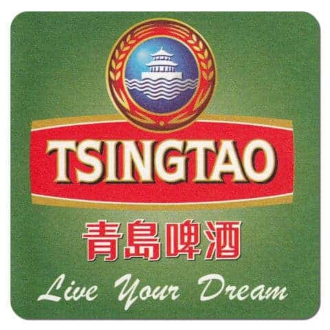 Tsingtao Beer Mat