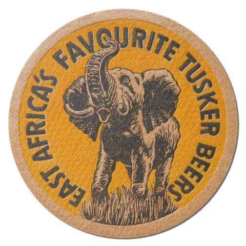 Tusker Beers Coaster