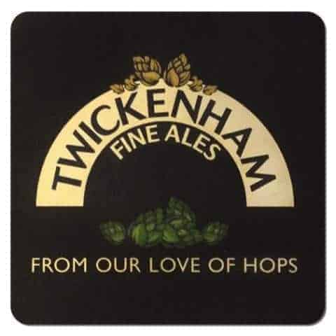 Twickenham Fine Ales Beer Mat