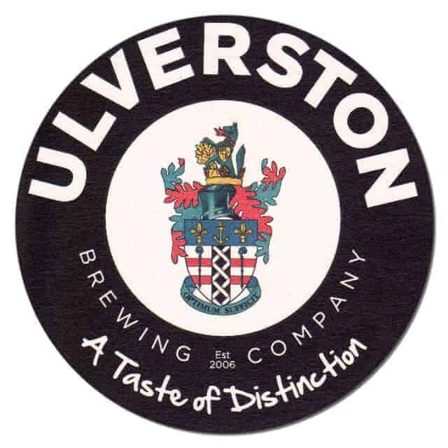 Ulverston Brewing Beer Mat