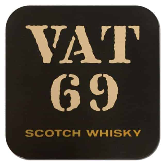 VAT 69 Coaster