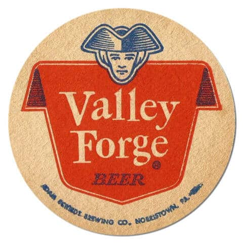Valley Forge Beer Coaster