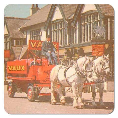Vaux Brewery Beer Mat