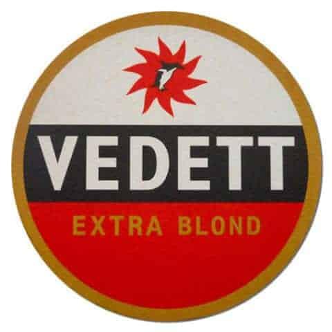Vedett Extra Blond Beer Mat